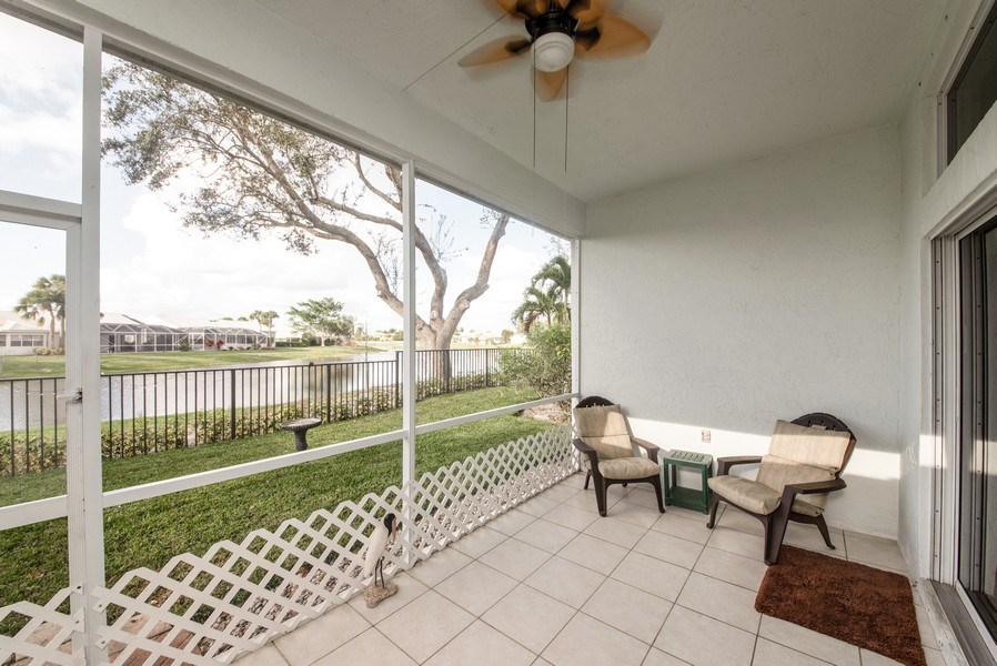 Real Estate Photography - 2591 Country Golf Drive, Wellington, FL, 33414 - Patio