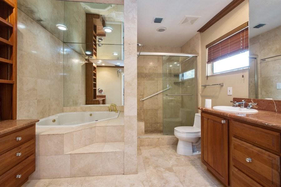 Real Estate Photography - 3447 NE 168th S, North Miami Beach, FL, 33160 - Master Bathroom