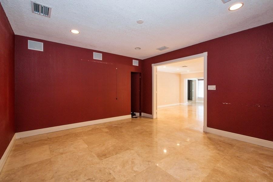 Real Estate Photography - 3447 NE 168th S, North Miami Beach, FL, 33160 - Media Room