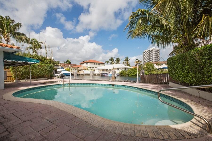Real Estate Photography - 3447 NE 168th S, North Miami Beach, FL, 33160 - Pool