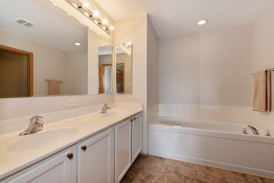 Real Estate Photography - 410 Kensington Dr., Oswego, IL, 60532 - Master Bathroom