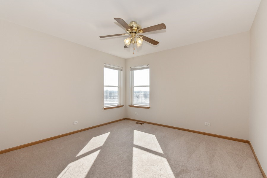 Real Estate Photography - 410 Kensington Dr., Oswego, IL, 60532 - 3rd Bedroom