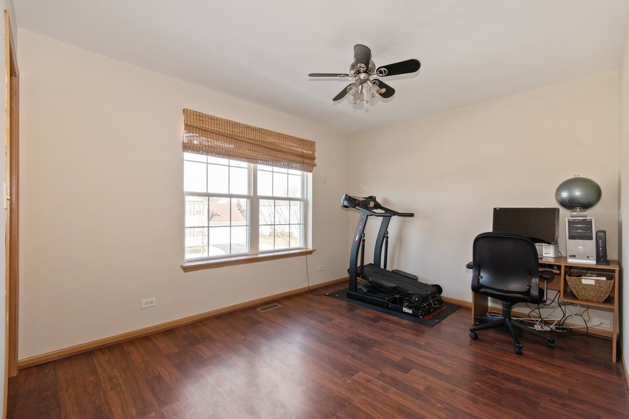 Real Estate Photography - 410 Kensington Dr., Oswego, IL, 60532 - 4th Bedroom