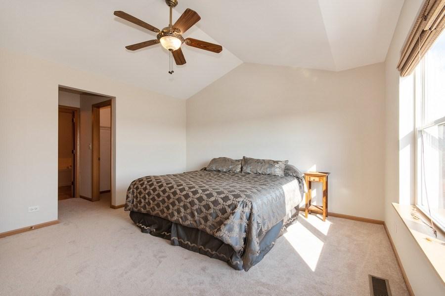 Real Estate Photography - 410 Kensington Dr., Oswego, IL, 60532 - Master Bedroom
