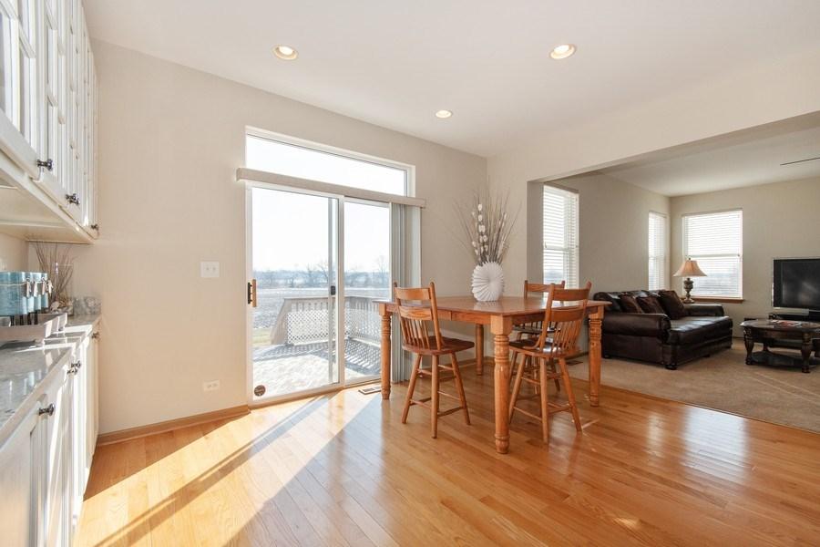 Real Estate Photography - 410 Kensington Dr., Oswego, IL, 60532 - Breakfast Nook