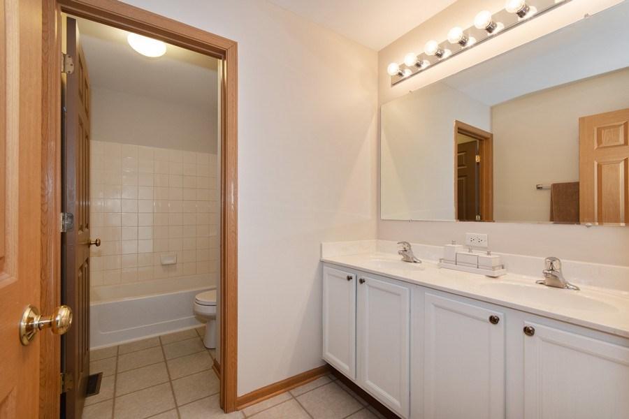 Real Estate Photography - 410 Kensington Dr., Oswego, IL, 60532 - 2nd Bathroom