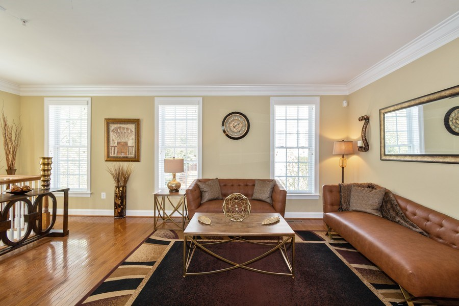 Real Estate Photography - 3536 Goddard Way, Alexandria, VA, 22304 - Living Room