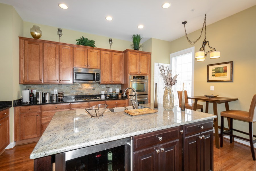Real Estate Photography - 3536 Goddard Way, Alexandria, VA, 22304 - Kitchen