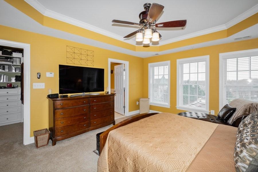 Real Estate Photography - 3536 Goddard Way, Alexandria, VA, 22304 - Master Bedroom