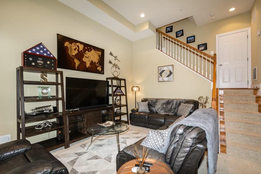 Real Estate Photography - 3536 Goddard Way, Alexandria, VA, 22304 - Recreational Room
