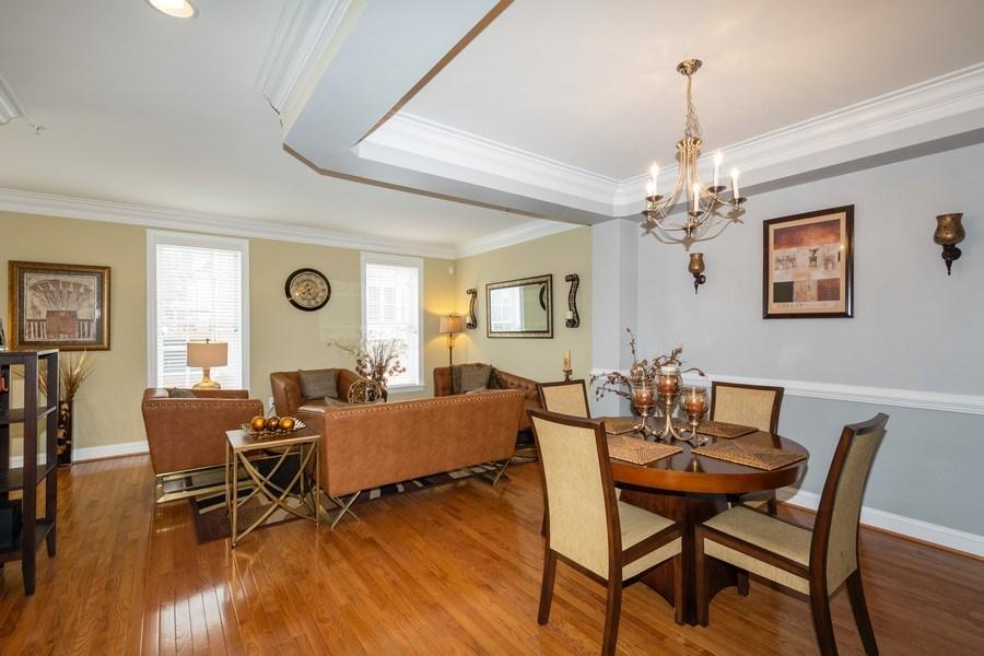 Real Estate Photography - 3536 Goddard Way, Alexandria, VA, 22304 - Dining Room