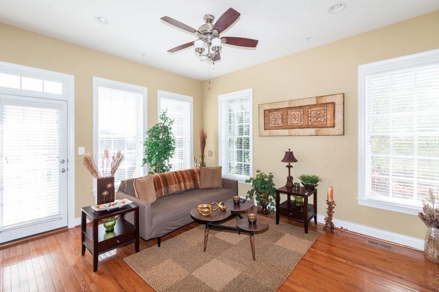 Real Estate Photography - 3536 Goddard Way, Alexandria, VA, 22304 - Family Room