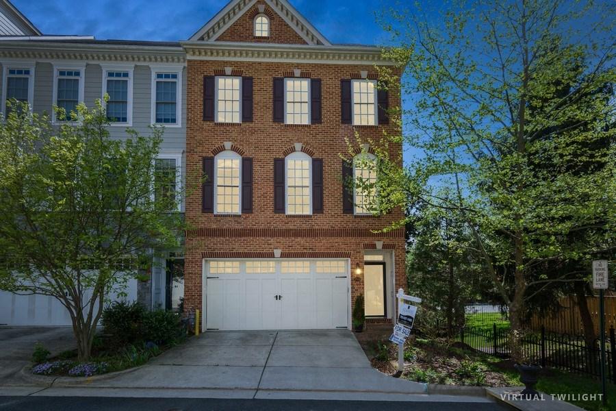 Real Estate Photography - 3536 Goddard Way, Alexandria, VA, 22304 - Front View