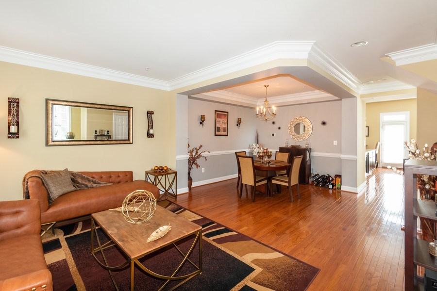 Real Estate Photography - 3536 Goddard Way, Alexandria, VA, 22304 - Living Room / Dining Room