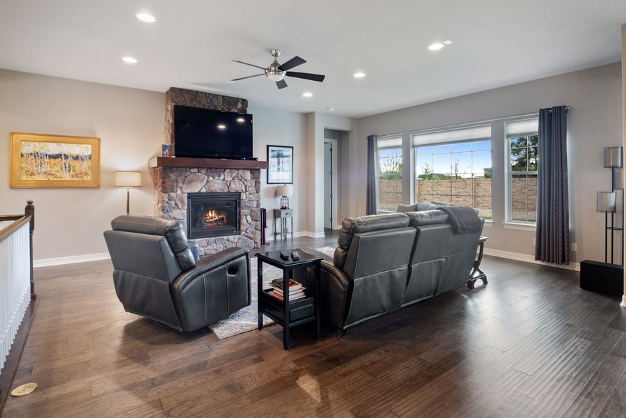 Real Estate Photography - 1650 Tiverton Ave, Broomfield, CO, 80023 - Living Room