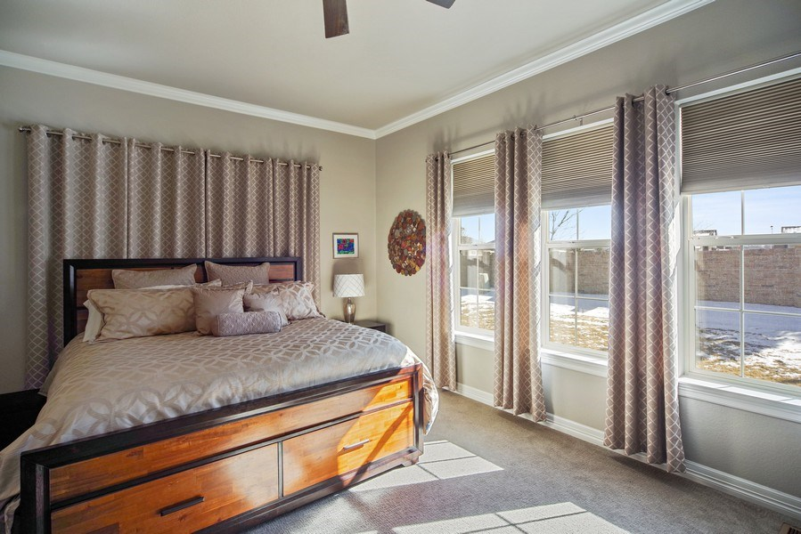 Real Estate Photography - 1650 Tiverton Ave, Broomfield, CO, 80023 - Master Bedroom
