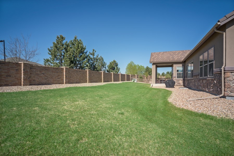 Real Estate Photography - 1650 Tiverton Ave, Broomfield, CO, 80023 - Back Yard