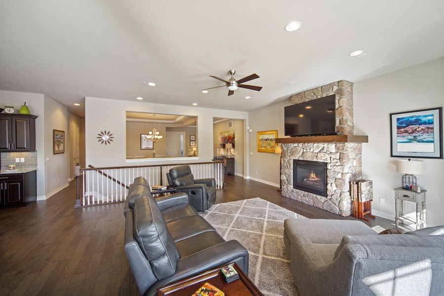 Real Estate Photography - 1650 Tiverton Ave, Broomfield, CO, 80023 - Family Room