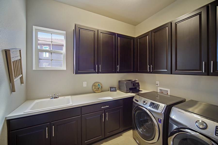 Real Estate Photography - 1650 Tiverton Ave, Broomfield, CO, 80023 - Laundry Room