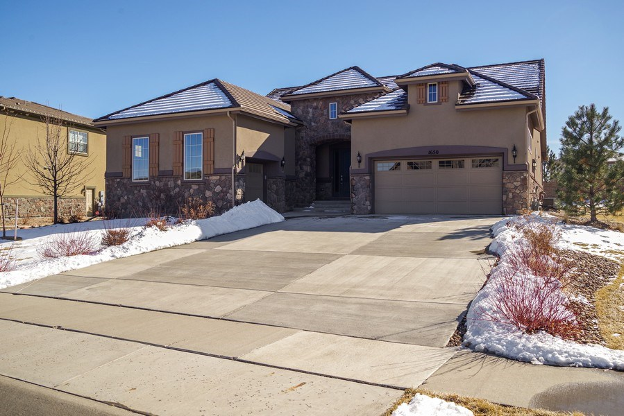 Real Estate Photography - 1650 Tiverton Ave, Broomfield, CO, 80023 - Front View