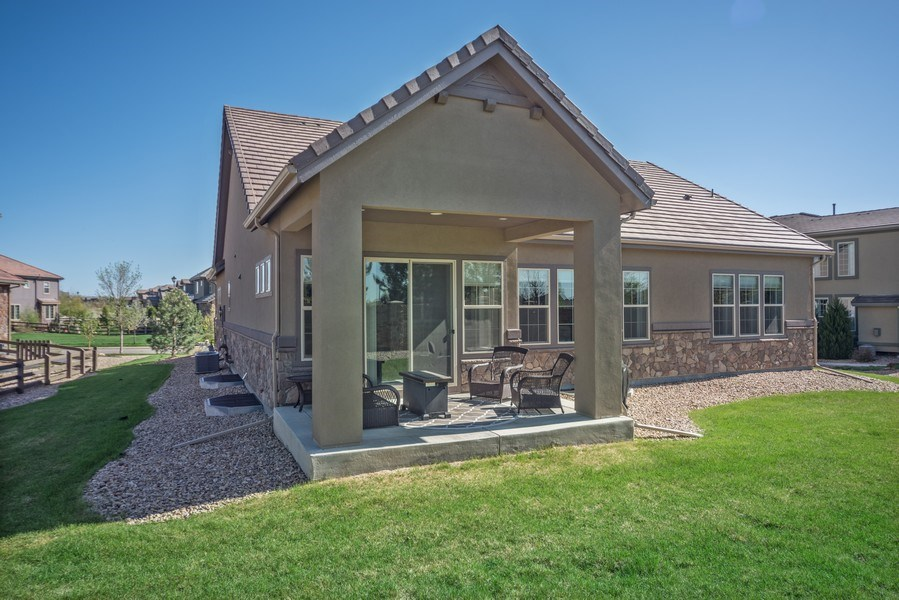 Real Estate Photography - 1650 Tiverton Ave, Broomfield, CO, 80023 - Rear View