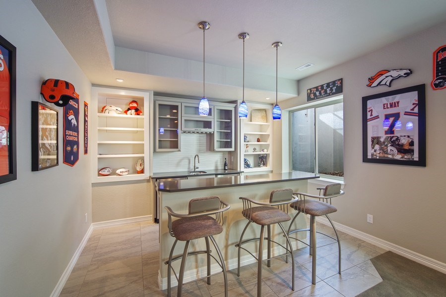 Real Estate Photography - 1650 Tiverton Ave, Broomfield, CO, 80023 - Bar