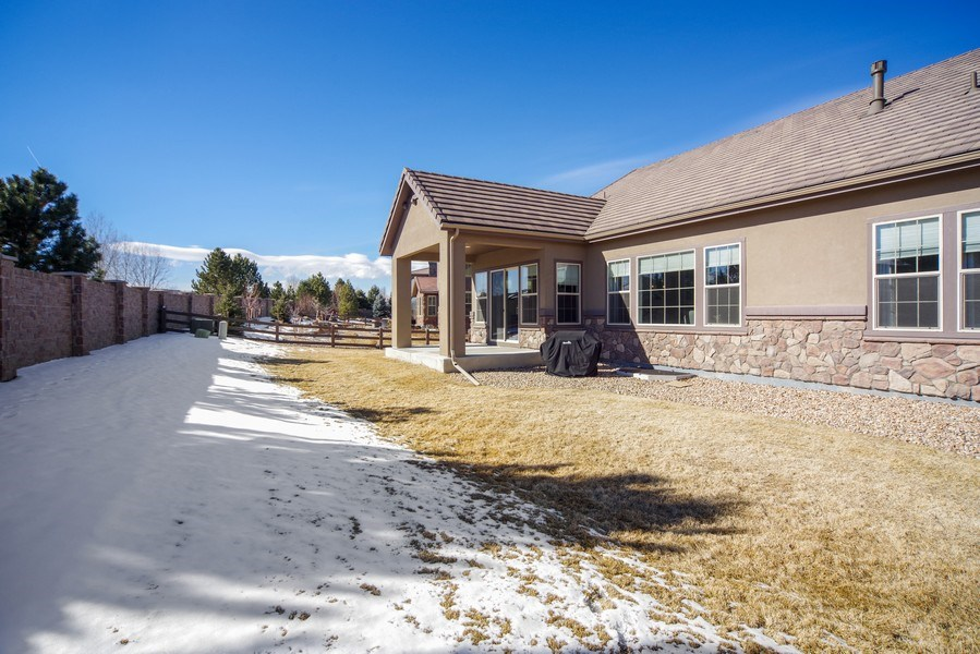 Real Estate Photography - 1650 Tiverton Ave, Broomfield, CO, 80023 - Patio