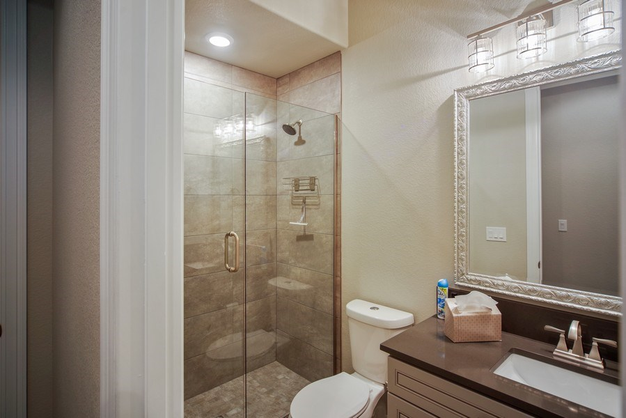 Real Estate Photography - 1650 Tiverton Ave, Broomfield, CO, 80023 - 4th bathroom