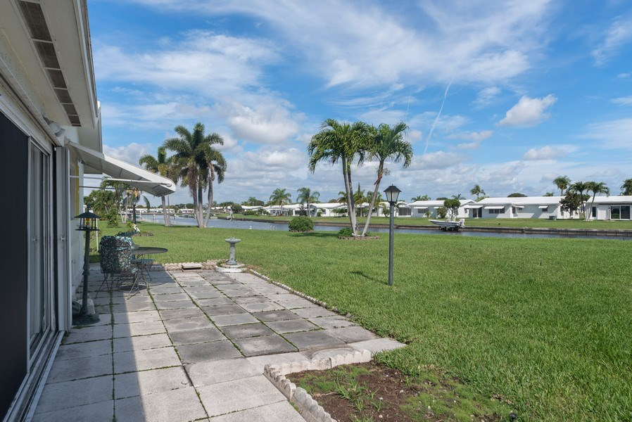 Real Estate Photography - 718 SW 15th St, Boynton, FL, 33426 - Patio