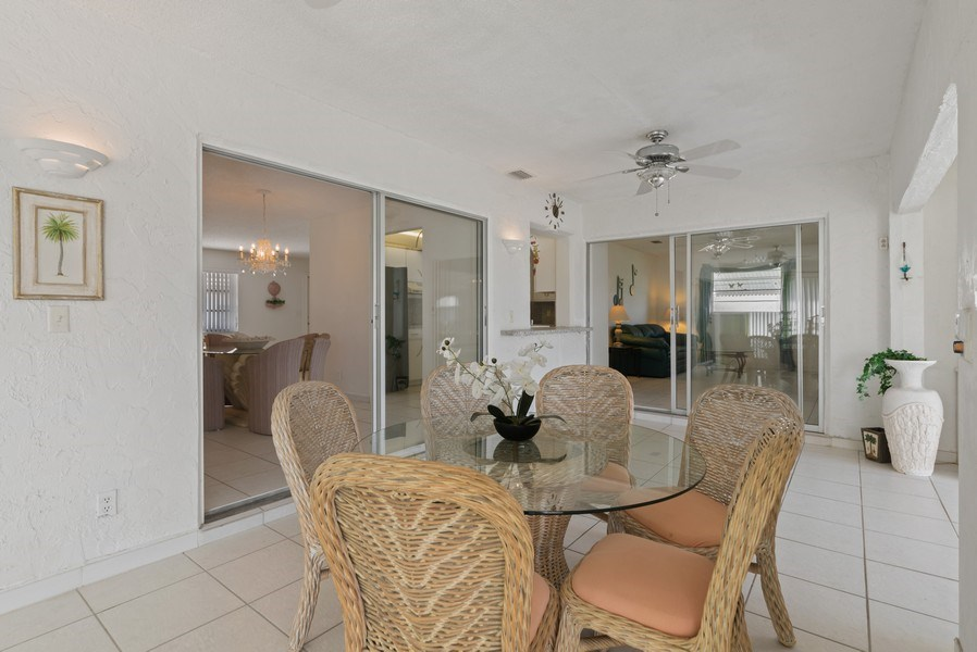 Real Estate Photography - 718 SW 15th St, Boynton, FL, 33426 - Sunroom