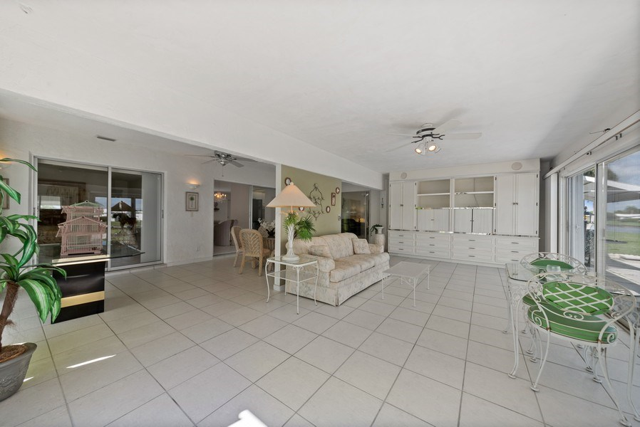 Real Estate Photography - 718 SW 15th St, Boynton, FL, 33426 - Sunroom