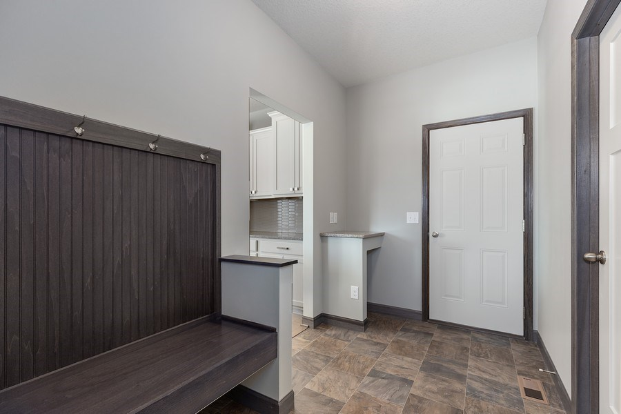 Real Estate Photography - 5118 Suntide Pass, Woodbury, MN, 55129 - Mudroom