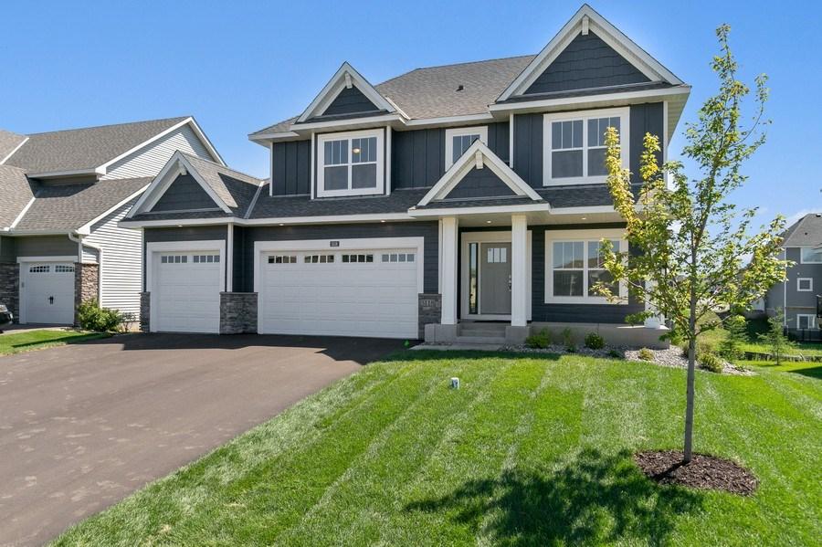 Real Estate Photography - 5118 Suntide Pass, Woodbury, MN, 55129 -