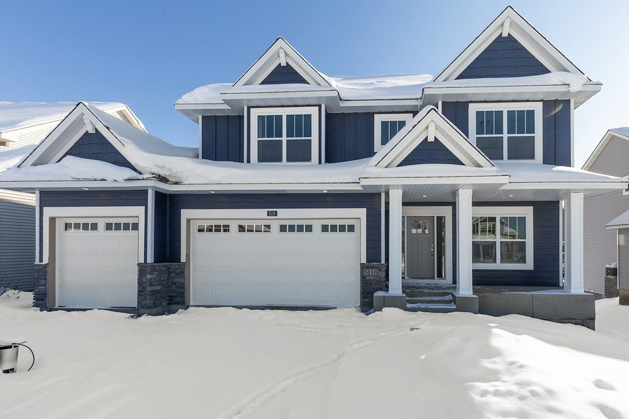 Real Estate Photography - 5118 Suntide Pass, Woodbury, MN, 55129 - Front View