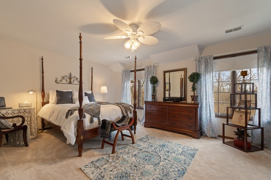 Real Estate Photography - 415 Butternut Trail, Frankfort, IL, 60423 - 2nd Bedroom