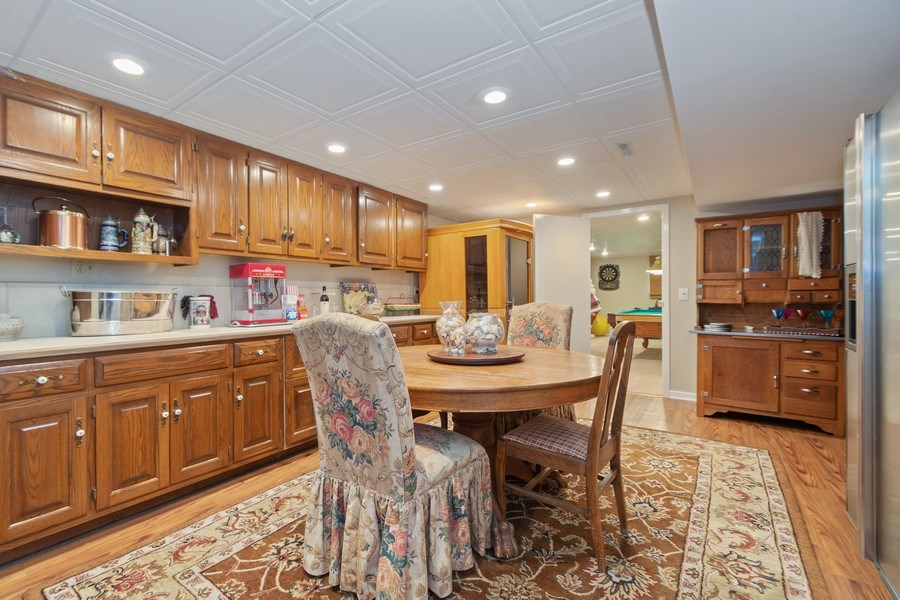 Real Estate Photography - 415 Butternut Trail, Frankfort, IL, 60423 - Basement Recreation Room
