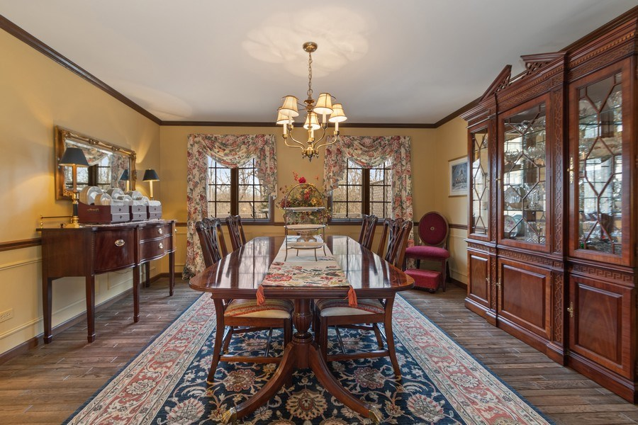 Real Estate Photography - 415 Butternut Trail, Frankfort, IL, 60423 - Dining Room