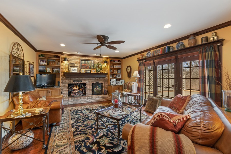 Real Estate Photography - 415 Butternut Trail, Frankfort, IL, 60423 - Family Room