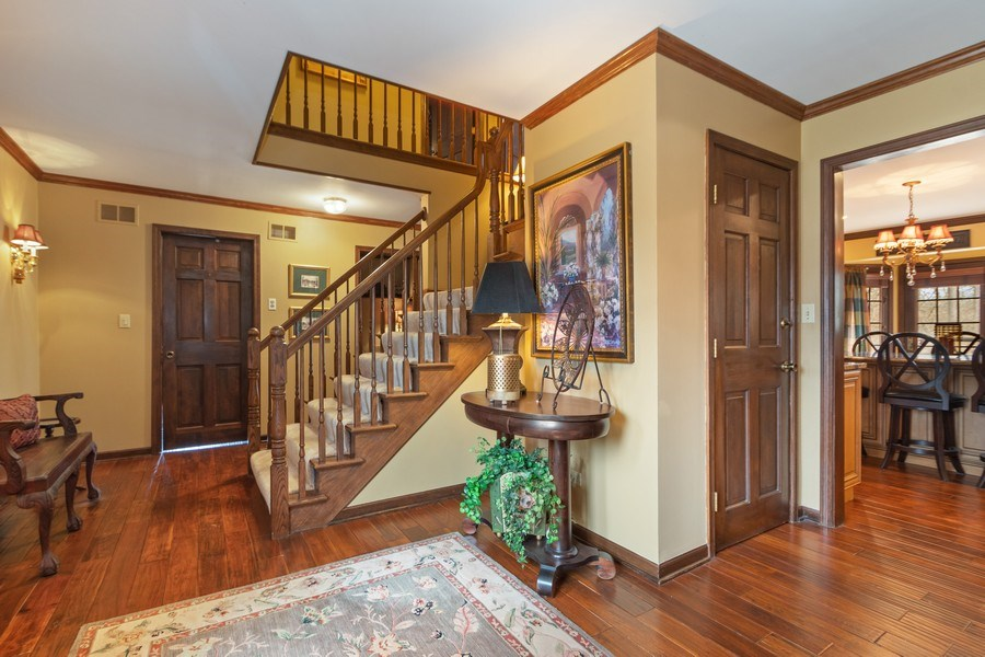 Real Estate Photography - 415 Butternut Trail, Frankfort, IL, 60423 - Foyer