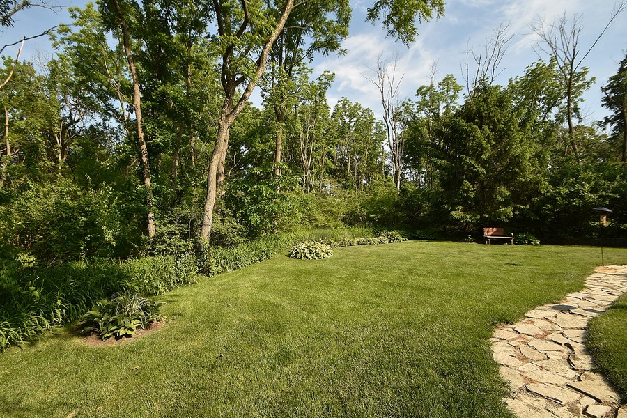 Real Estate Photography - 415 Butternut Trail, Frankfort, IL, 60423 - Private Yard