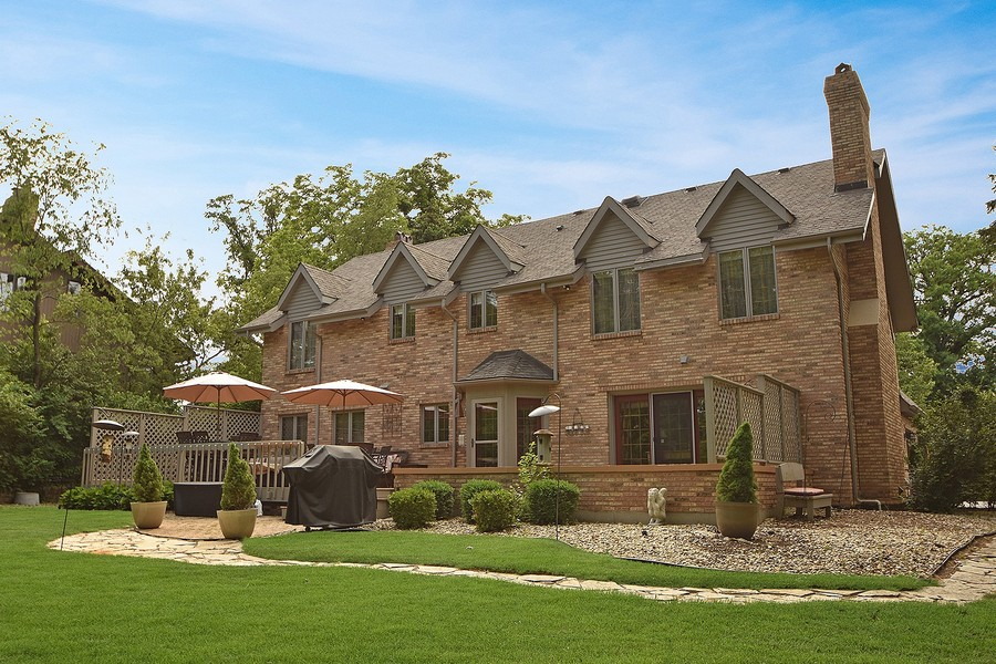 Real Estate Photography - 415 Butternut Trail, Frankfort, IL, 60423 - Rear View