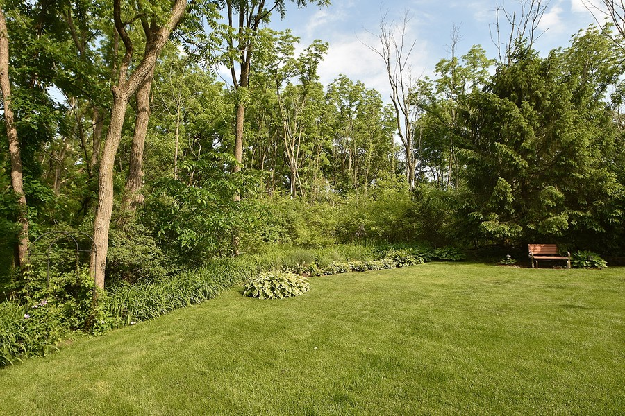 Real Estate Photography - 415 Butternut Trail, Frankfort, IL, 60423 - Backyard
