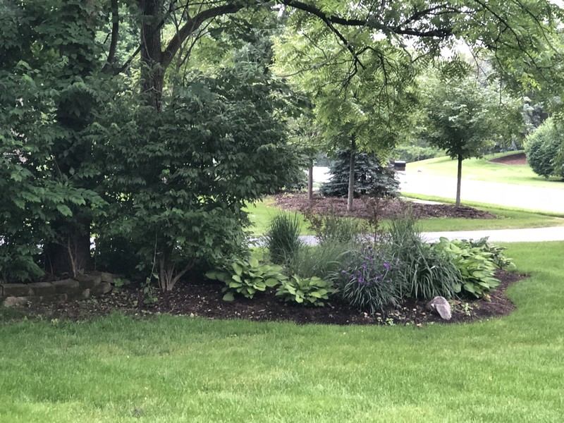 Real Estate Photography - 415 Butternut Trail, Frankfort, IL, 60423 - Perennial gardens