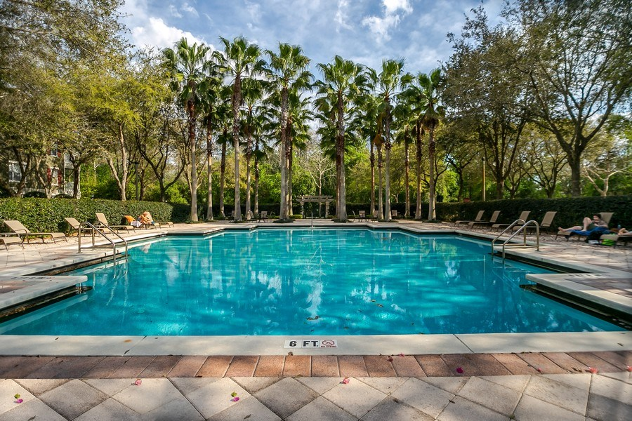 Real Estate Photography - 730 Siena Place, Apt 201, Kissimmee, FL, 34747 - Pool