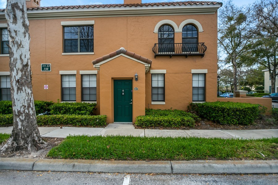 Real Estate Photography - 730 Siena Place, Apt 201, Kissimmee, FL, 34747 - Front View