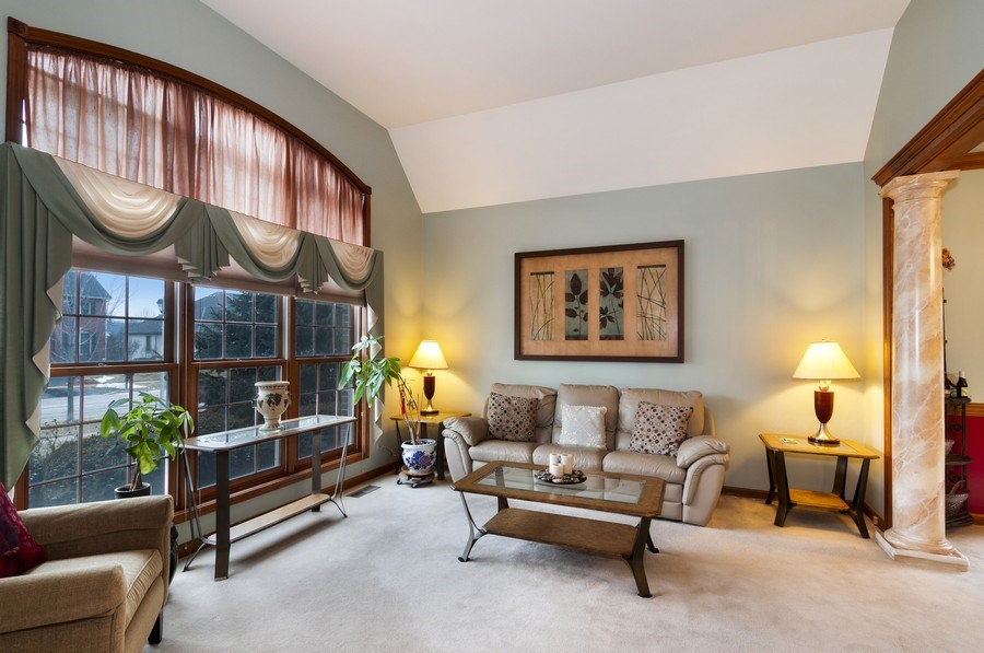 Real Estate Photography - 819 Farm Dr, West Chicago, IL, 60185 - Living Room