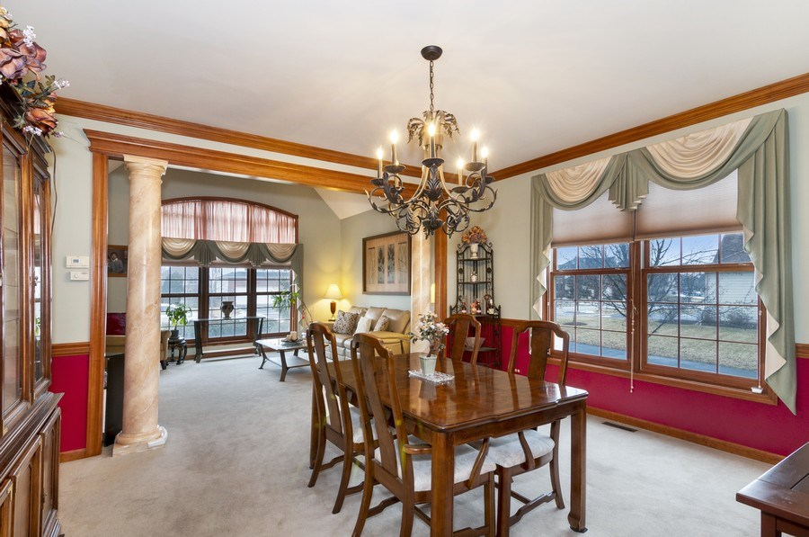 Real Estate Photography - 819 Farm Dr, West Chicago, IL, 60185 - Dining Room