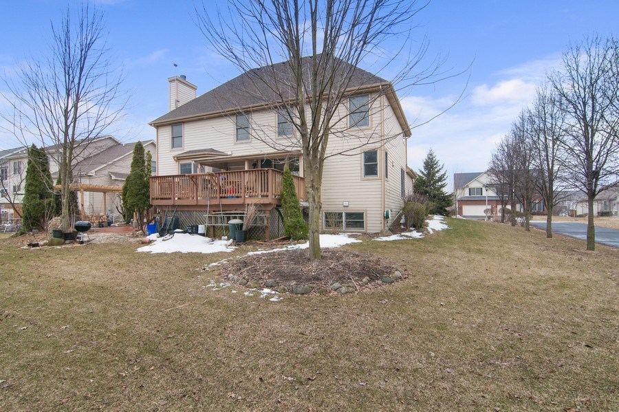 Real Estate Photography - 819 Farm Dr, West Chicago, IL, 60185 - Rear View