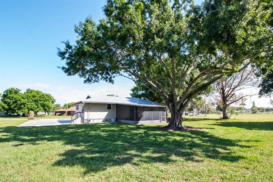 Real Estate Photography - 700 SAGINAW AVE., CLEWISTON, FL, 33440 - Back Yard