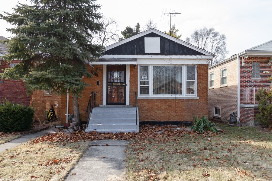 Real Estate Photography - 14132 Dearborn St, Riverdale, IL, 60827 - Front View